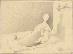 """Gottfried Brockmann. """"Die heilige Familie"""". 1929"""