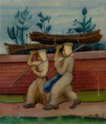 Ludwig Egidius Ronig. Wood carriers. 1926