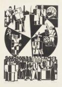 "Gerd Arntz. ""Wahldrehscheibe"". 1932"