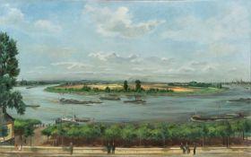 Franz M. Jansen. The Rhine near Porz. 1939