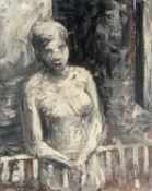 Anton Räderscheidt. Untitled (Woman on the balcony). 1930