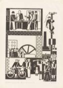 """Gerd Arntz. """"Fabrikbesetzung"""". 1931"""