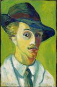 Franz M. Jansen. Self-portrait. 1908