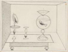 """Gottfried Brockmann. """"Goldfischglas"""". 1929"""