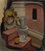 Ludwig Egidius Ronig. Still life with glass jar. 1930