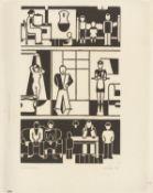 """Gerd Arntz. """"Wohnhaus"""". 1927"""