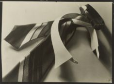 Théodore Blanc & Antoine Demilly. Still Life with Tie and Collar. Circa 1930