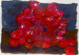 Rainer Fetting. Red grapes. 1987