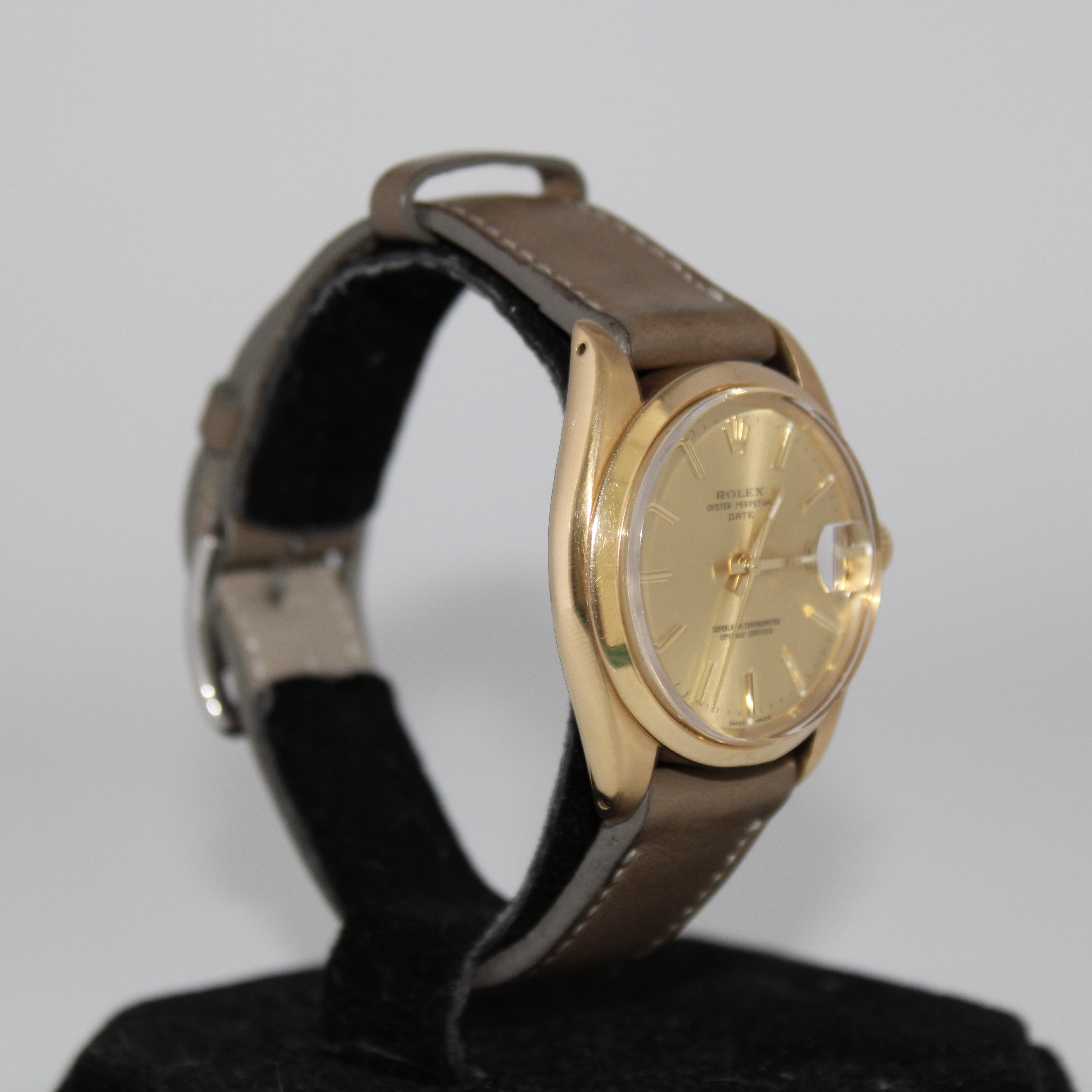 Rolex Oyster Date 18ct Ref 1500 - Image 5 of 6
