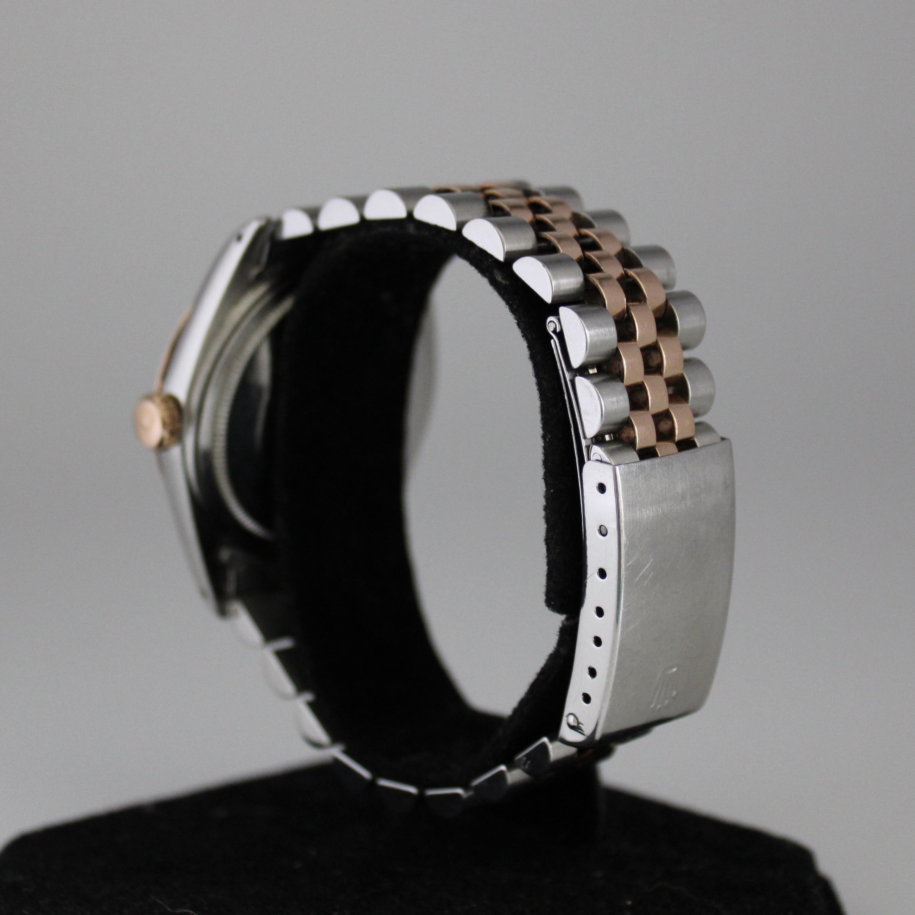Rolex Datejust ref 1601 Steel & Pink Gold - Image 4 of 8