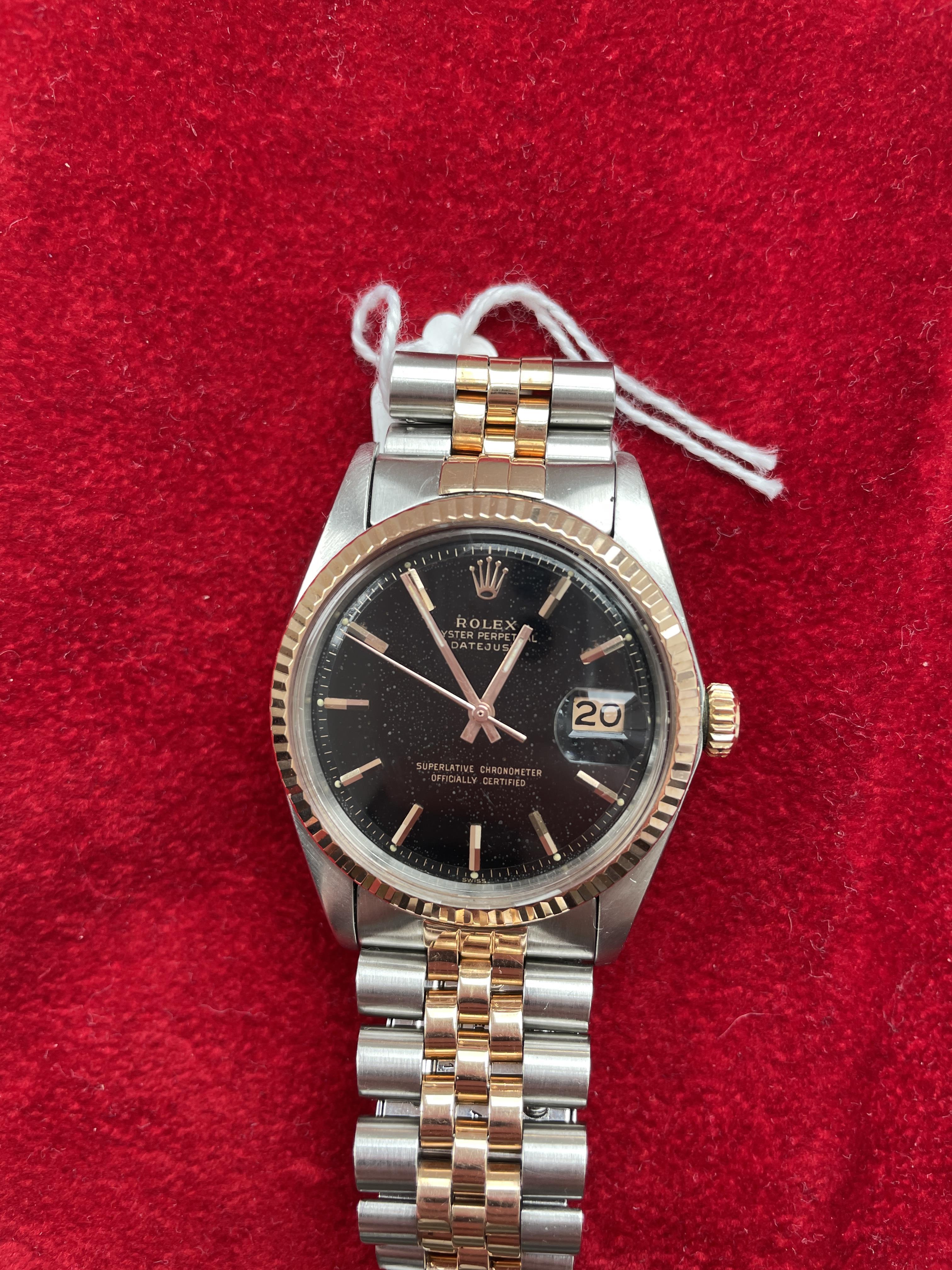 Rolex Datejust ref 1601 Steel & Pink Gold - Image 8 of 8