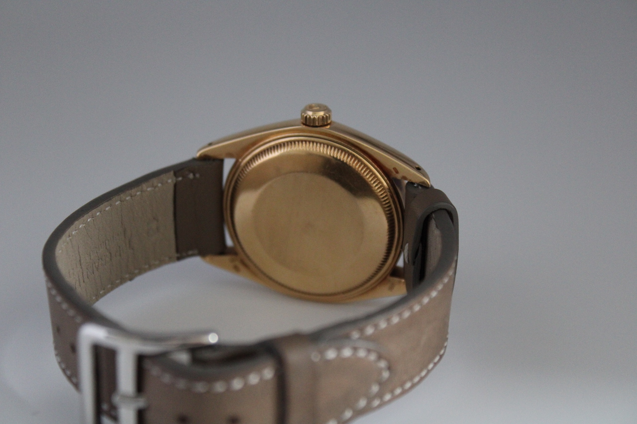 Rolex Oyster Date 18ct Ref 1500 - Image 6 of 6