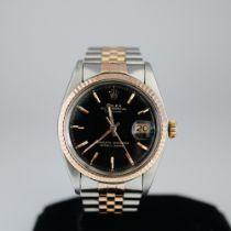 Rolex Datejust ref 1601 Steel & Pink Gold