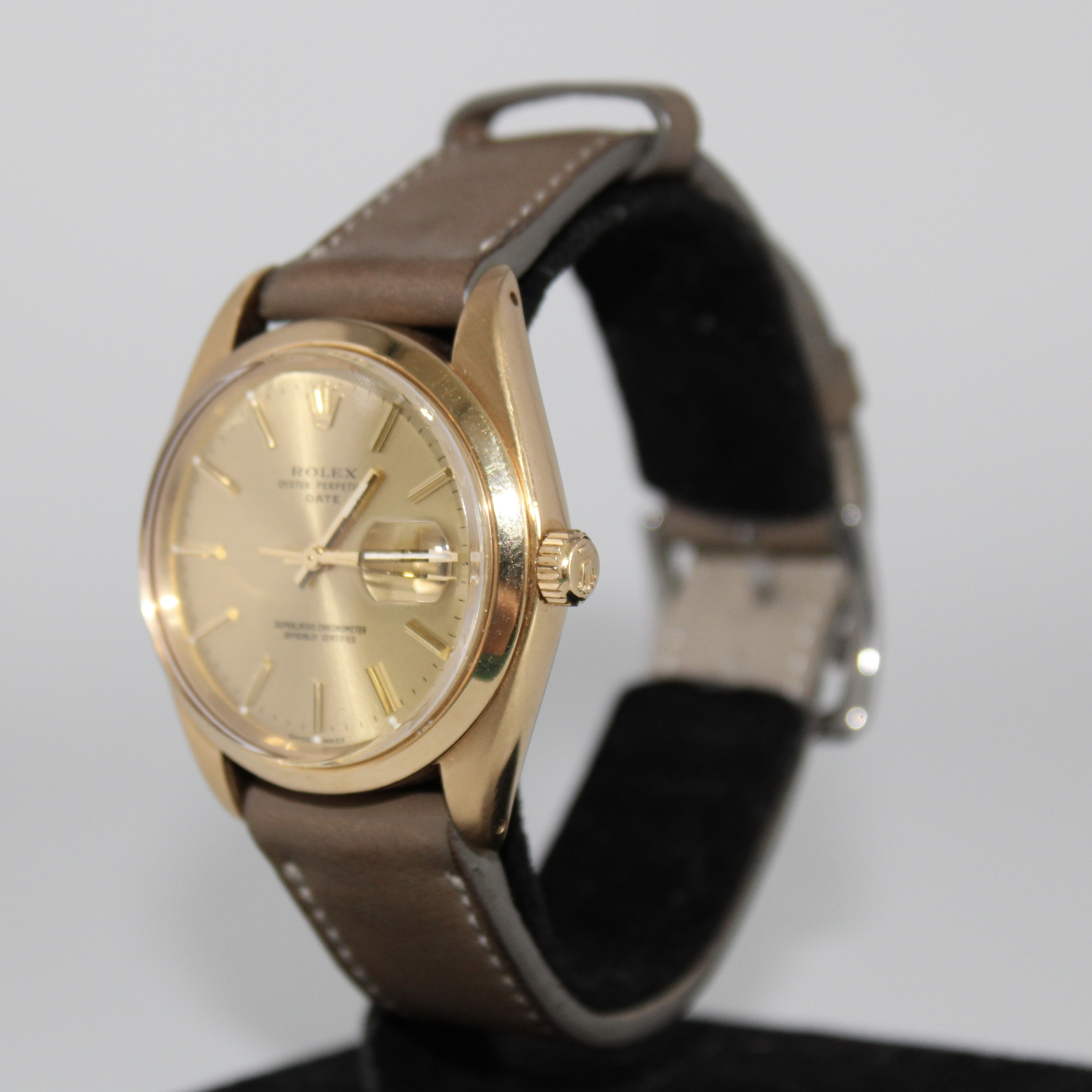 Rolex Oyster Date 18ct Ref 1500 - Image 2 of 6