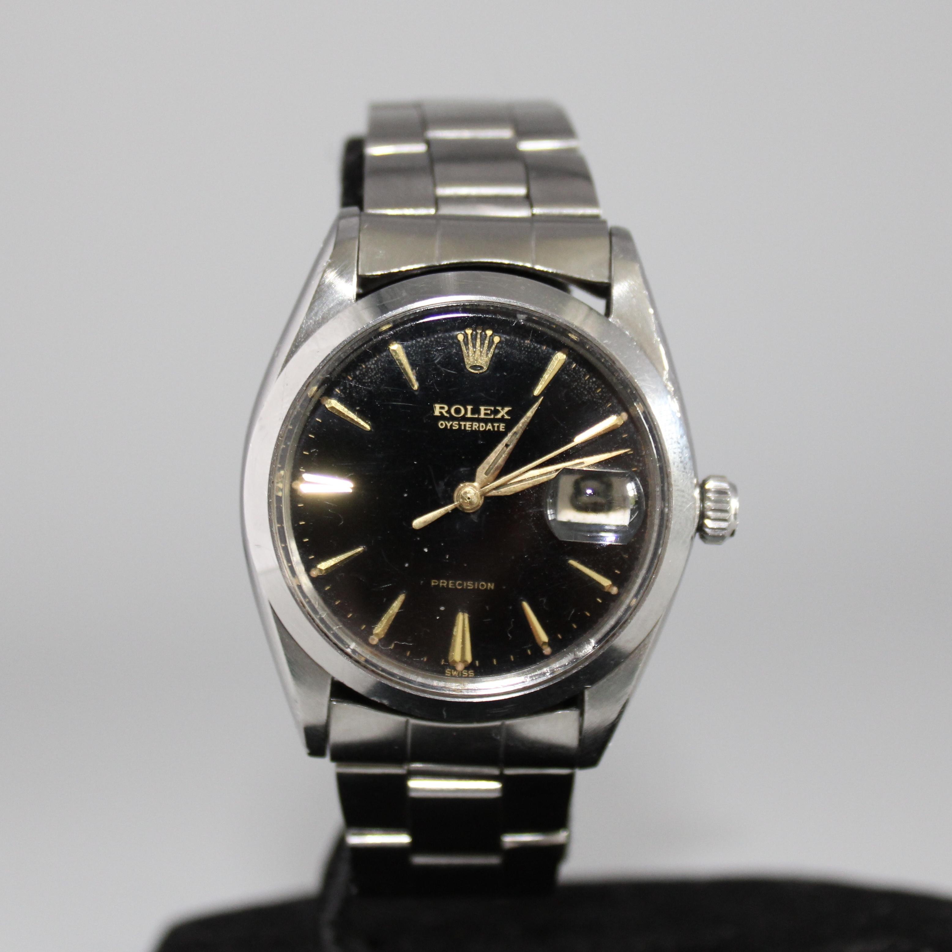 Rolex Oysterdate Precision ref 6694