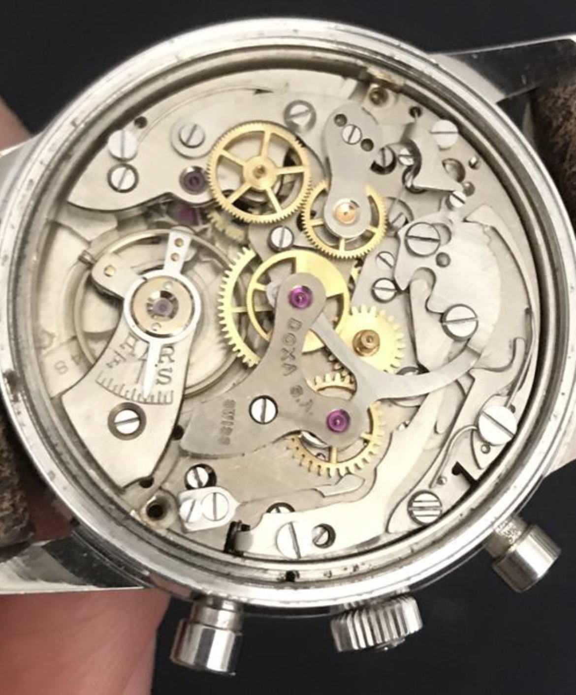 Doxa Vintage Twin Chronograph ref 7105A - Image 5 of 5