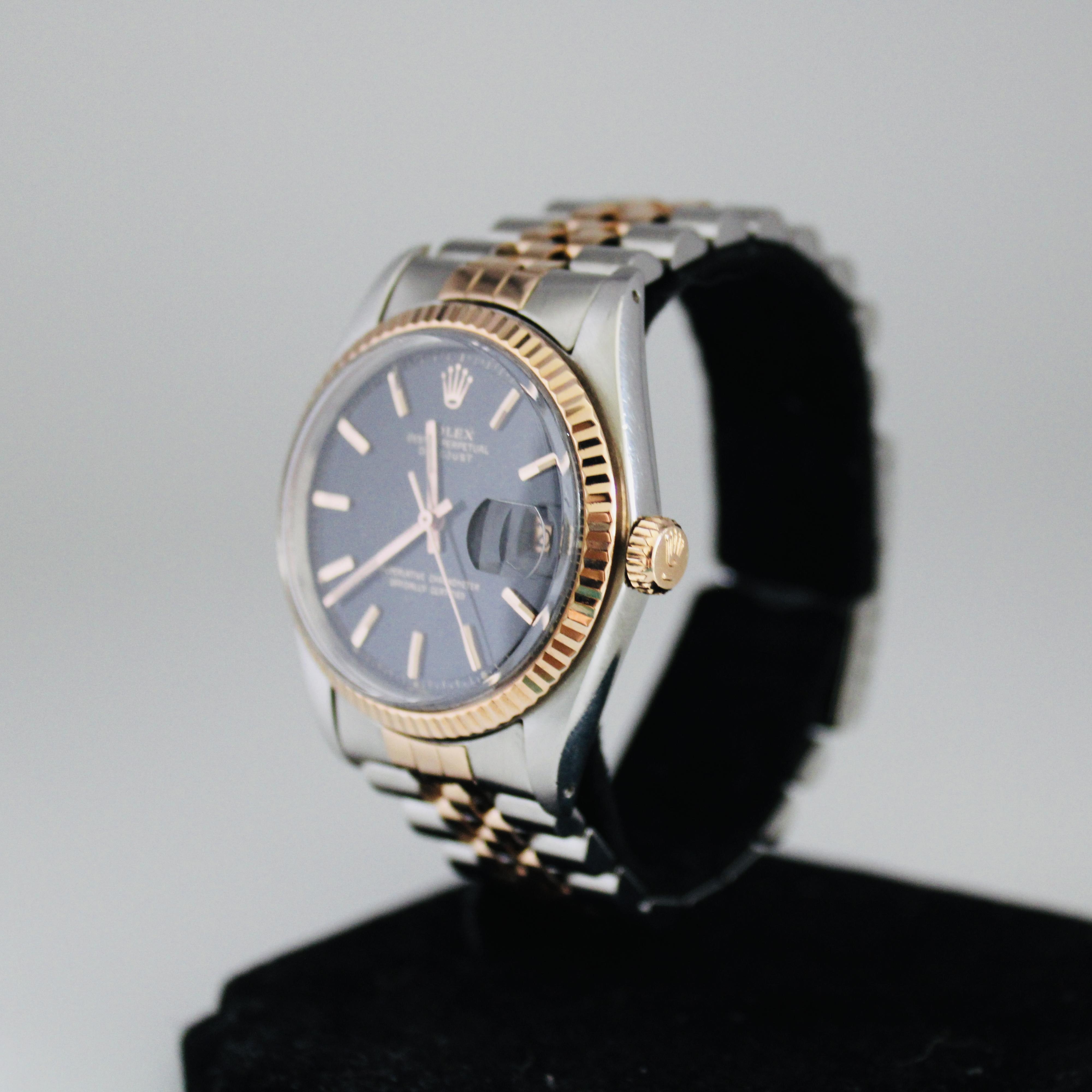 Rolex Datejust ref 1601 Steel & Pink Gold - Image 2 of 8