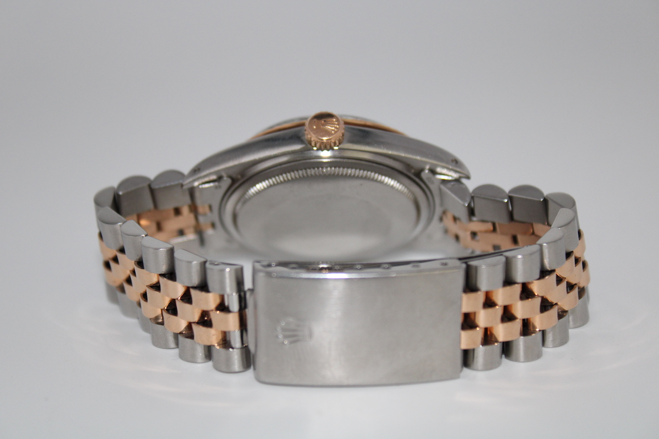 Rolex Datejust ref 1601 Steel & Pink Gold - Image 6 of 8