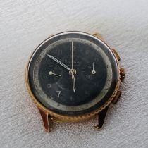 Breitling Vintage Gold Chronograph