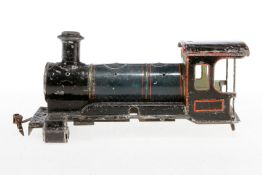 Märklin Lokgehäuse, S 1., uralt, nicht vollständig, als Ersatzteil