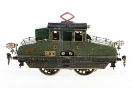 Märklin E-Lok V 65/13021, S 1, elektr., grün, mit je 1 el. bel. Stirnlampe, Frontbereiche von Nasen