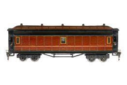 """Märklin französischer Postwagen """"522"""" 2997, S 0, HL, mit 4 AT, UV-Blender, 4 Achslagerblenden"""