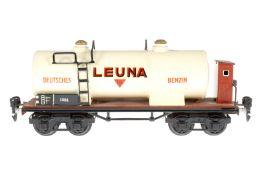 Märklin Leuna Kesselwagen 1854, S 0, HL, mit BRH, LS und gealterter Lack, L 24,5, Z 2-3