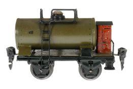 Märklin Petroleumwagen 1839, S 0, HL, mit BRH, UV-Blender, L 11,5, Z 3