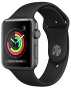 Lot of 2 x Apple Watch Series 3 42mm GPS + Cellular