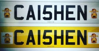 Cherished Number Plate CA15 HEN . Caishen God of Wealth