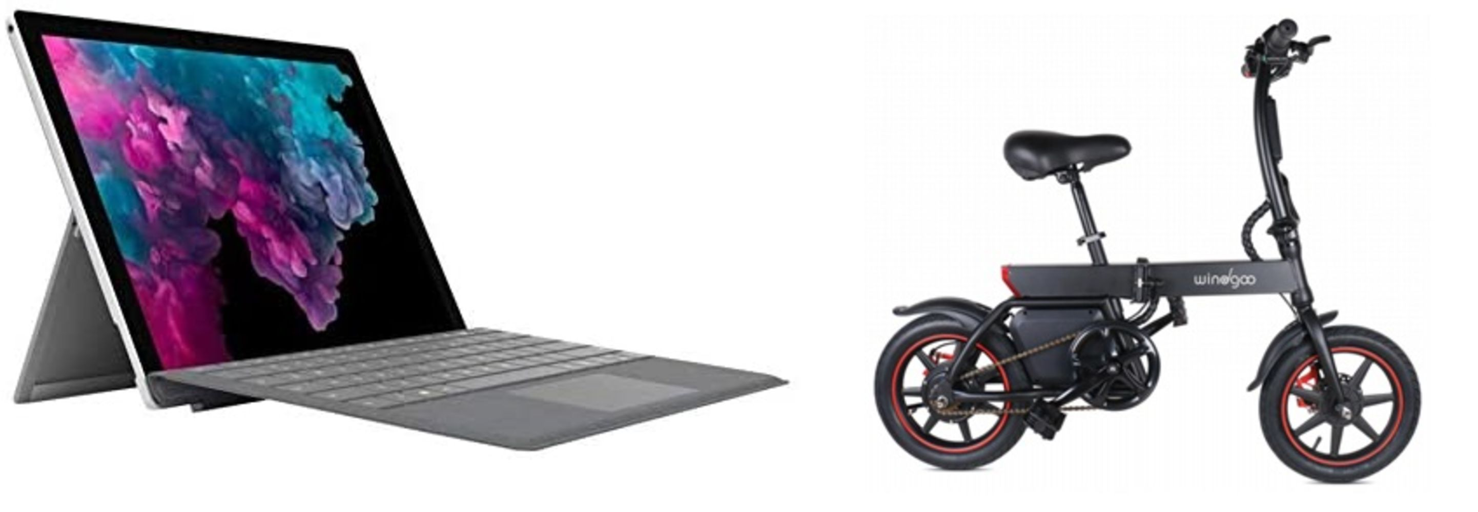 NO VAT on most items. 60 x iPads &18 x Microsoft Surface Pro. Sold in 2 lots. Electric scooters, bikes and hoverboards. Samsung Galaxy Note 9