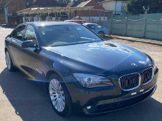 2010/60 REG BMW 740I. 4 door Saloon. Low mileage. NO VAT ON THE HAMMER