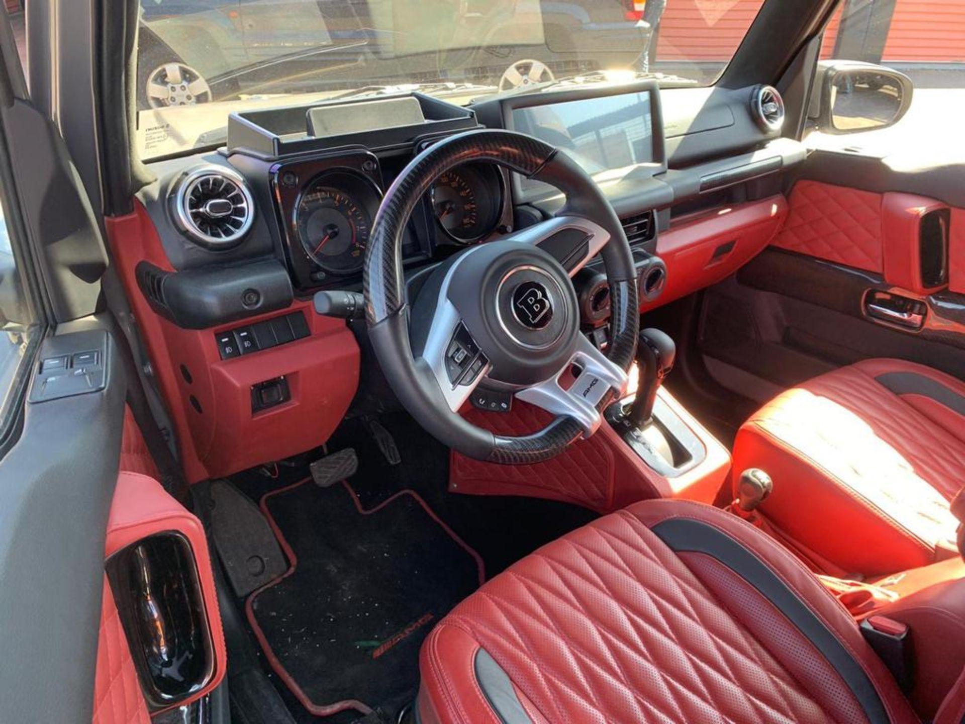*RESERVE MET* - 2019 Suzuki Jimny Converted to Mini G - Mini Mercedes G Wagon G63 Brabus. - Image 2 of 6