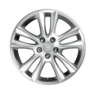 BRAND NEW set of 4 Range Rover Sport 19 inch Alloy Wheels. 5 Split Spoke. Silver Sparkle Type A