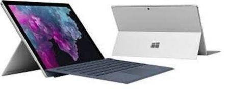 Microsoft Surface Pro 6 i7 8GB 256GB Platinum UK K/Board. Grade B