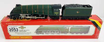 Hornby OO Gauge Mallard Locomotive Boxed P&P Group 1 (£14+VAT for the first lot and £1+VAT for