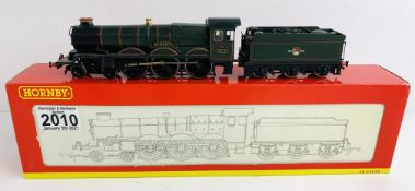 Hornby OO Gauge Hampden Castle Locomotive Boxed P&P Group 1 (£14+VAT for the first lot and £1+VAT