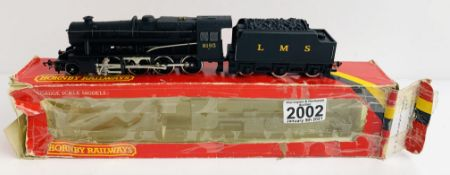 Hornby OO Gauge LMS 8193 Locomotive Boxed (Box Poor) P&P Group 1 (£14+VAT for the first lot and £1+