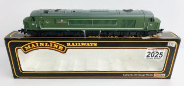 Mainline OO Gauge The Manchester Regiment Locomotive Boxed P&P Group 1 (£14+VAT for the first lot