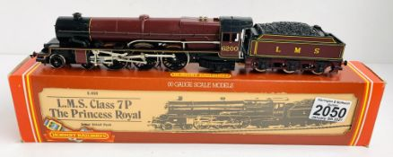 Hornby OO Gauge The Princess Royal Locomotive Boxed P&P Group 1 (£14+VAT for the first lot and £1+