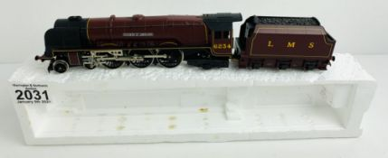 Hornby OO Gauge Duchess of Abercorn Locomotive Poly Tray Only P&P Group 1 (£14+VAT for the first lot