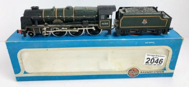 Airfix OO Gauge Royal Scot Locomotive Boxed P&P Group 1 (£14+VAT for the first lot and £1+VAT for