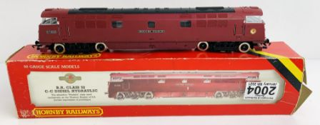 Hornby OO Gauge Class 52 Locomotive Boxed P&P Group 1 (£14+VAT for the first lot and £1+VAT for