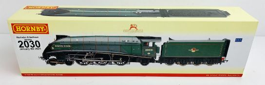 Hornby OO Gauge Golden Plover Locomotive Boxed P&P Group 1 (£14+VAT for the first lot and £1+VAT for