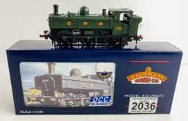 Bachmann 32-213DC OO Gauge GWR Green Pannier Boxed P&P Group 1 (£14+VAT for the first lot and £1+VAT