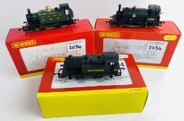 3x Hornby OO Gauge 0-4-0 Tank Locos Boxed P&P Group 1 (£14+VAT for the first lot and £1+VAT for