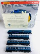 Hornby OO Gauge Coronation Train Pack LMS Blue Boxed P&P Group 1 (£14+VAT for the first lot and £1+