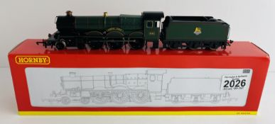 Hornby R2543 OO Gauge Warwick Castle Boxed P&P Group 1 (£14+VAT for the first lot and £1+VAT for
