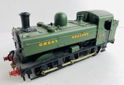 Finescale Kit Built O Gauge Pannier Tank GWR Loco - Finished & Painted to a High Standard P&P