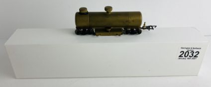 CMX OO Gauge Brass Track Cleaner Wagon in Aftermarket Box P&P Group 1 (£14+VAT for the first lot and